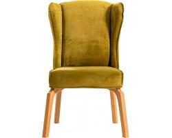 Krzesło Caleta żółte