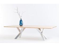 Stół dębowy Double X