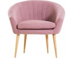 Fotel Rosa różowy