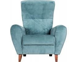 Fotel Canzone niebieski