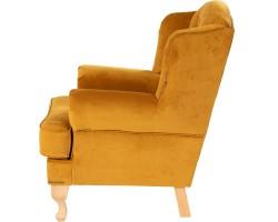 Fotel Astana żółty