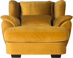 Fotel Fashion żółty