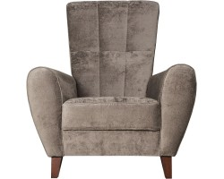 Fotel Canzone brązowy