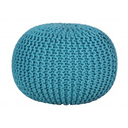 Cotton ball pufa turkusowa