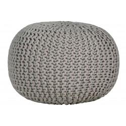 Cotton ball pufa szara