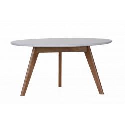 Retro stolik kawowy biały