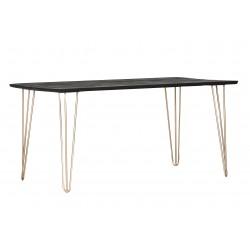 Scan stół 160 czarny