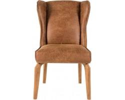 Krzesło Caleta brązowe